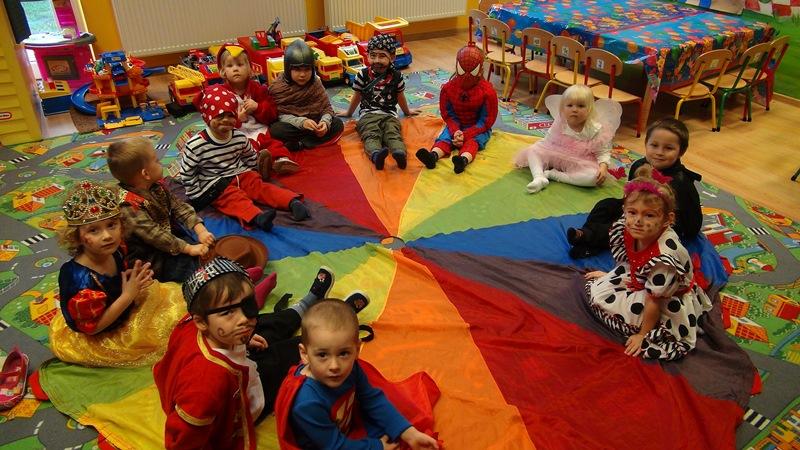 Zabawa w przedszkolu w Gdyni