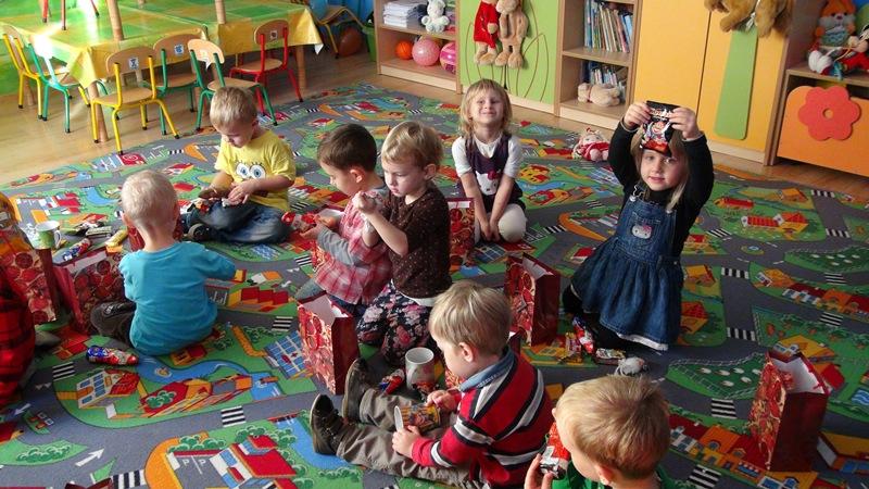 mikolaj w przedszkolu w gdyni