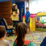 zielone lekcje wizyta pszczelarzy bajkoland gdynia przedszkole